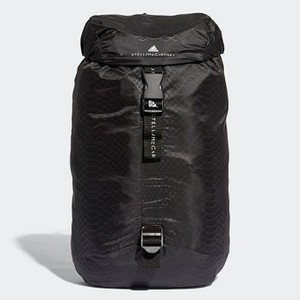 [해외] Womens adidas by Stella McCartney Small Adizero Backpack [아디다스 백팩] Black/White/Black (CZ7288)
