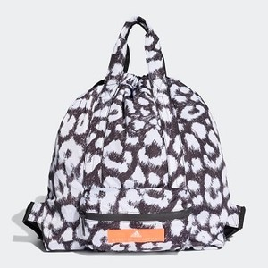 [해외] Womens adidas by Stella McCartney Gym Sack [아디다스 백팩] Black/White (DW9307)