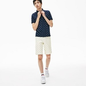 [해외] Mens LIVE Cotton Shorts [라코스테 바지] White/White (FH3856-51)