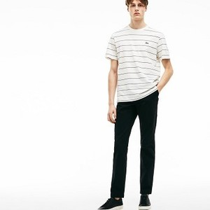 [해외] Mens Regular Fit Chino Pants [라코스테 바지] Black (HH4602-51)
