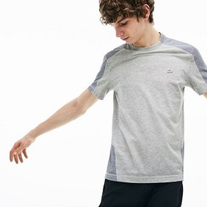 [해외] Mens Lacoste Motion Ultra Light Cotton T-shirt [라코스테 반팔,폴로티] Grey Chine/Grey Chine (TH4283-51)