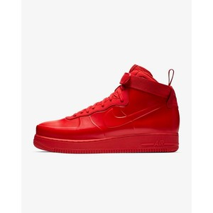 [해외] Nike Air Force 1 Foamposite Cupsole [나이키 하이탑] University Red/Black/University Red (BV1172-600)