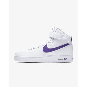 [해외] Nike Air Force 1 High 07 3 [나이키 하이탑] White/Court Purple/White (AT4141-103)