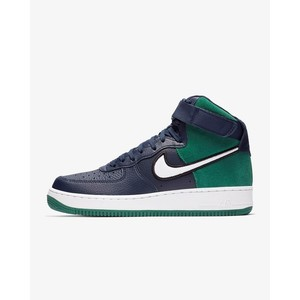 [해외] Nike Air Force 1 High 07 LV8 1 [나이키 하이탑] Midnight Navy/Black/White/Mystic Green (AO2442-400)