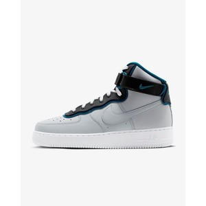 [해외] Nike Air Force 1 High 07 LV8 1 [나이키 하이탑] Wolf Grey/Green Abyss/Black (AO2442-001)