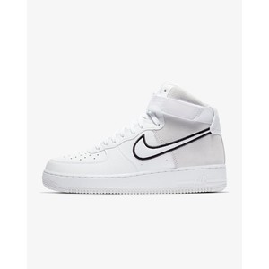 [해외] Nike Air Force 1 High 07 LV8 1 [나이키 하이탑] White/Black/Vast Grey (AO2442-100)