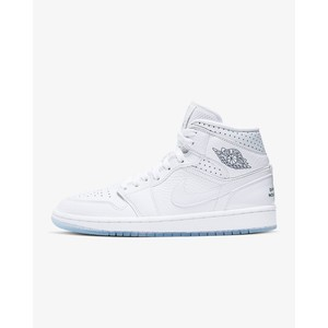 [해외] Air Jordan 1 Mid Unite Totale [에어 조던] White/Metallic Red Bronze/Midnight Navy (CI9100-100)