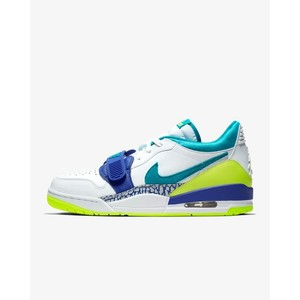 [해외] Air Jordan Legacy 312 Low [에어 조던] White/Ultramarine/Neon Yellow/Aquamarine (CD7069-103)
