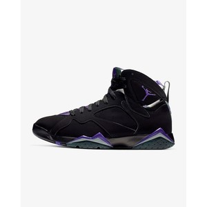 [해외] Air Jordan 7 Retro [에어 조던] Black/Fir/Dark Steel Grey/Field Purple (304775-053)