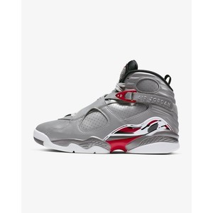 [해외] Air Jordan 8 Retro [에어 조던] Reflect Silver/True Red/Light Graphite/Hyper Blue (CI4073-001)