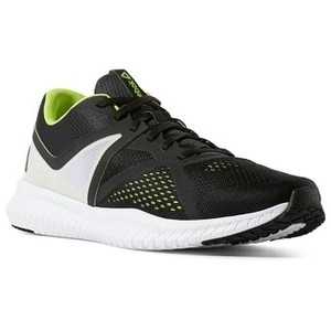 [해외] 리복 Flexagon Fit [리복 운동화] Black/White/Neon Lime/True Grey (CN6357)