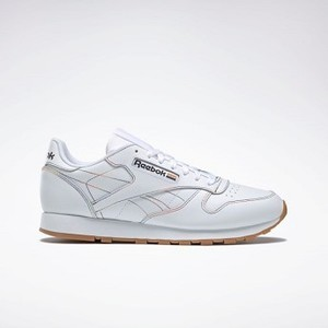 [해외] Classic Leather Pride Shoes [리복 운동화] White/Emerald/Cobalt (EG7401)