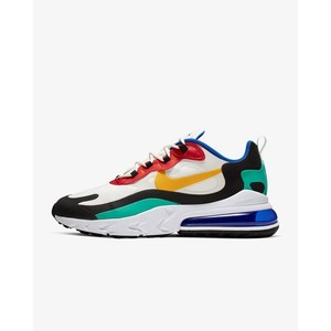 [해외] Nike Air Max 270 React Bauhaus [나이키 운동화] Phantom/University Red/Black/University Gold (AO4971-002)