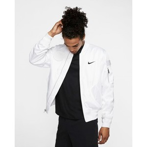[해외] NikeCourt Slam [나이키 자켓] White/Black (AT4373-100)