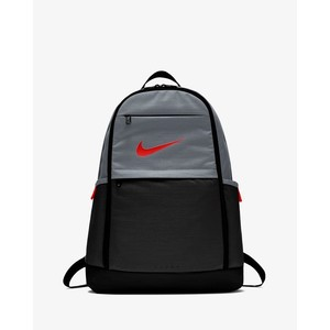 [해외] Nike Brasilia [나이키 백팩] Cool Grey/Black/Habanero Red (BA5892-065)