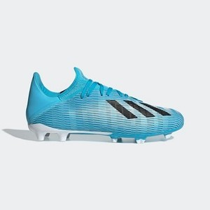 Soccer X 19.3 Firm Ground Cleats [아디다스 축구화] Bright Cyan/Core Black/Shock Pink (F35383)