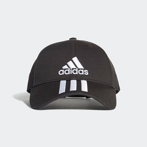 Training Six-Panel Classic 3-Stripes Hat [아디다스 볼캡] Black/White/White (DU0196)