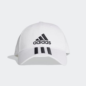 Training Six-Panel Classic 3-Stripes Hat [아디다스 볼캡] White/Black/Black (DU0197)