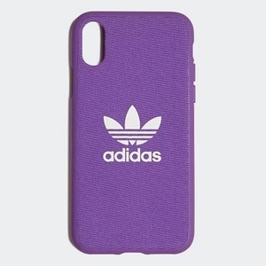 Originals Molded Case iPhone X 5.8-inch [아디다스 아이폰케이스] Active Purple/White (CL4893)