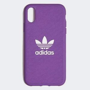 Originals Molded Case iPhone XR 6.1-inch [아디다스 아이폰케이스] Active Purple/White (CL4889)