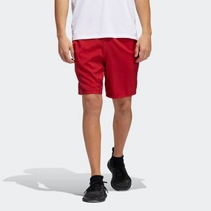 Mens Training 4KRFT Tech Woven 3-Stripes Shorts [아디다스 반바지] Active Maroon/Black (DX9447)