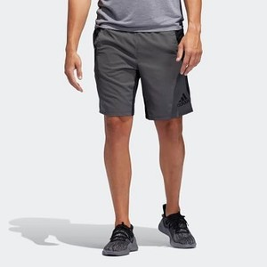 Mens Training 4KRFT Woven 10-inch Shorts [아디다스 반바지] Black/Grey Six (DU5232)