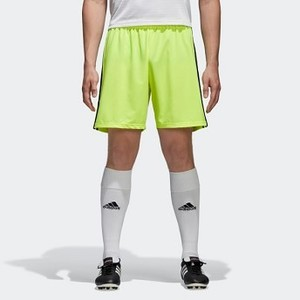 Mens Soccer Condivo 18 Shorts [아디다스 반바지] Solar Yellow/Black (CF0715)