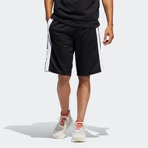 Mens Originals Outline Shorts [아디다스 반바지] Black/White (DV3184)
