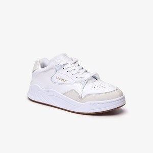 Mens Court Slam Leather Sneakers [라코스테 운동화] (38SMA0047)