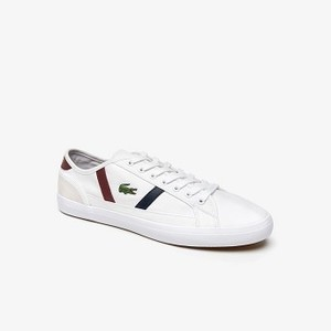 Mens Sideline Canvas and Leather Sneakers [라코스테 운동화] (38CMA0081)