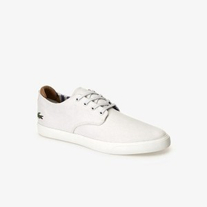 Mens Esparre Sneaker [라코스테 운동화] OFF WHITE/OFF WHITE-18C (Selected colour) (37CMA0025)