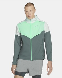 [해외]Nike Windrunner [나이키 자켓] Barely Green/Smoke Grey/Green Glow (CZ9070-394)