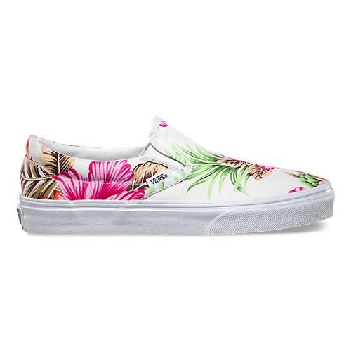 [해외] Vans Hawaiian Floral 슬립온 [반스 슬립온, 반스 운동화] (0MEFG0-HERO)
