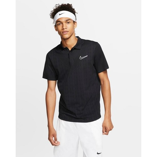 [해외] NikeCourt Advantage [나이키 반팔티] Black/Black/Black (AT4146-010)