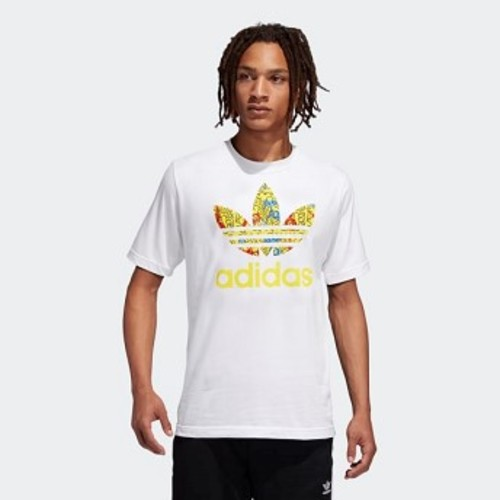 Mens Originals Keith Haring Tee [아디다스 티셔츠] White (FS3681)