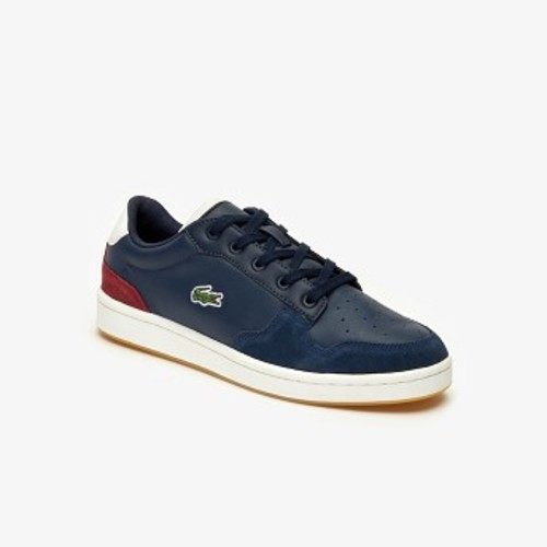 Womens Masters Cup Multicolor Leather and Suede Sneakers [라코스테 운동화] (38SFA0044)