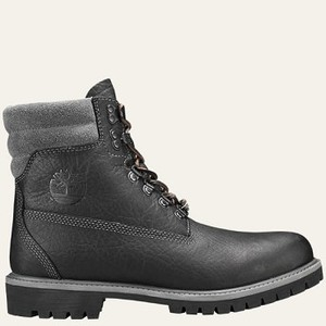[해외] Timberland Mens Limited Release 640 Below 6-Inch Waterproof Boots [팀버랜드 부츠] Black Highway Leather (A1M98001)