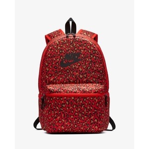 [해외] Nike Sportswear Heritage Printed [나이키 백팩] Habanero Red/Black/Black (BA5761-634)
