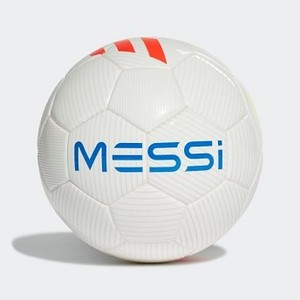 Mens Soccer Messi Mini Ball [아디다스 축구공] White/Solar Red/Solar Yellow/Football Blue (DY2469)