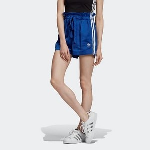 Womens Originals Satin Shorts [아디다스 반바지] Collegiate Royal (ED4751)