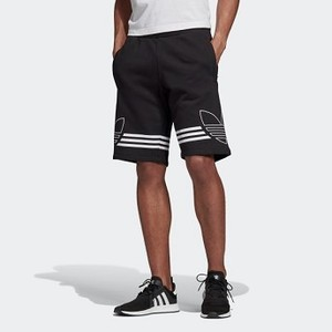 Mens Originals Outline Shorts [아디다스 반바지] Black (ED4696)