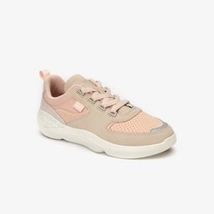 Womens Wildcard Paneled Leather Sneakers [라코스테 운동화] NATURAL/OFF WHITE-TS2 (Selected colour) (38SFA0046)