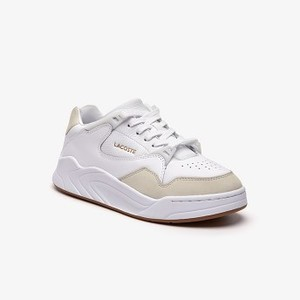 Womens Court Slam Leather Sneakers [라코스테 운동화] (38SFA0001)