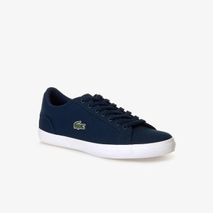 Mens Lerond Canvas Sneakers [라코스테 운동화] NVY-003 (Selected colour) (33CAM1033)