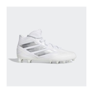 [해외]Freak Carbon Mid Cleats [아디다스 축구화] Cloud White / Silver Metallic / Clear Grey (EE7133)