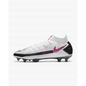 Nike Phantom GT Elite Dynamic Fit FG White/Black/Pink Blast (CW6589-160)