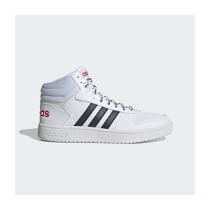 [해외]Hoops 2.0 Mid Shoes [아디다스운동화] Cloud White / Legend Ink / Scarlet (FW4478)