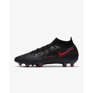 Nike Phantom GT Elite Dynamic Fit FG Black/Dark Smoke Grey/Chile Red (CW6589-060)