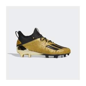 [해외]Adizero New Reign Cleats [아디다스 축구화] Gold Metallic / Core Black / Gold Metallic (EF8597)