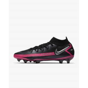 Nike Phantom GT Elite Dynamic Fit FG Black/Pink Blast/Metallic Silver (CW6589-006)